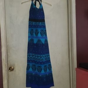 R &K ORIGINALS BLUE DREAM DRESS SIZE 18